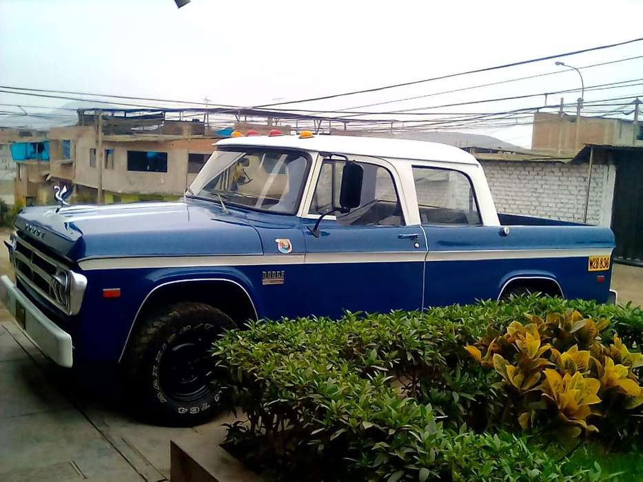 <strong>dodge</strong> 100 1976 - 70500 km