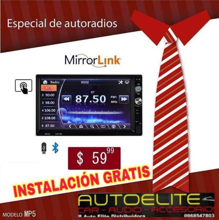 Radio Pantalla Instalacion Gratis Promo