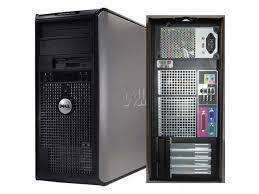 cpu dell optiplex 740 4gb ram 160gb hdd 2.30ghz wind 10 pro