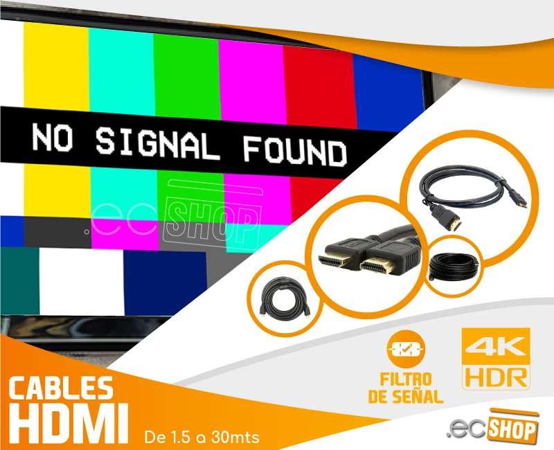 CABLE HDMI CON FILTRO ALTA CALIDAD