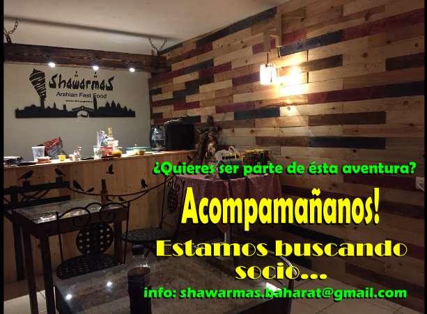 Busco Socio para Restaurante de Comida Rápida Árabe
