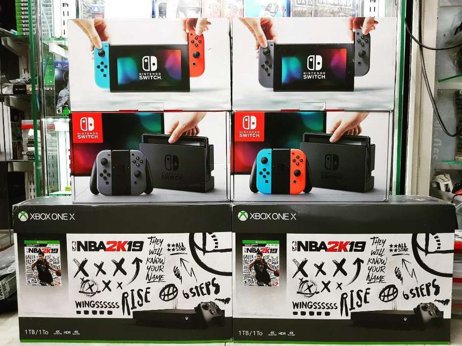 Nintendo Switch Xbox One X Nuevas