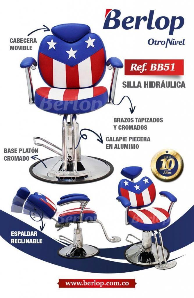 Silla de barberia ref. BB51