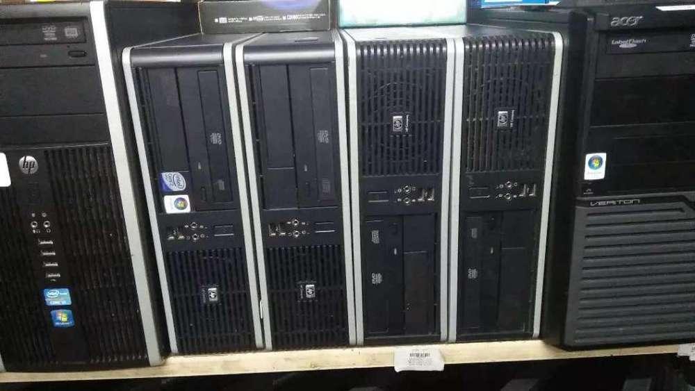 Cpu.S core 2 duo memoria 2 gigas Disco duro 160 Gb Windows 7