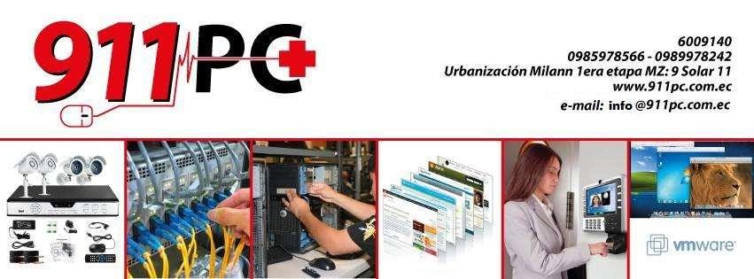 Mantenimiento Pc, Cableado Estructurado, Cámaras y Alarmas