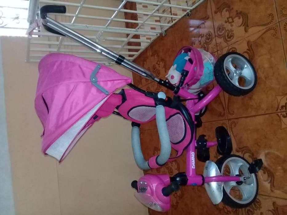 Triciclo para nias