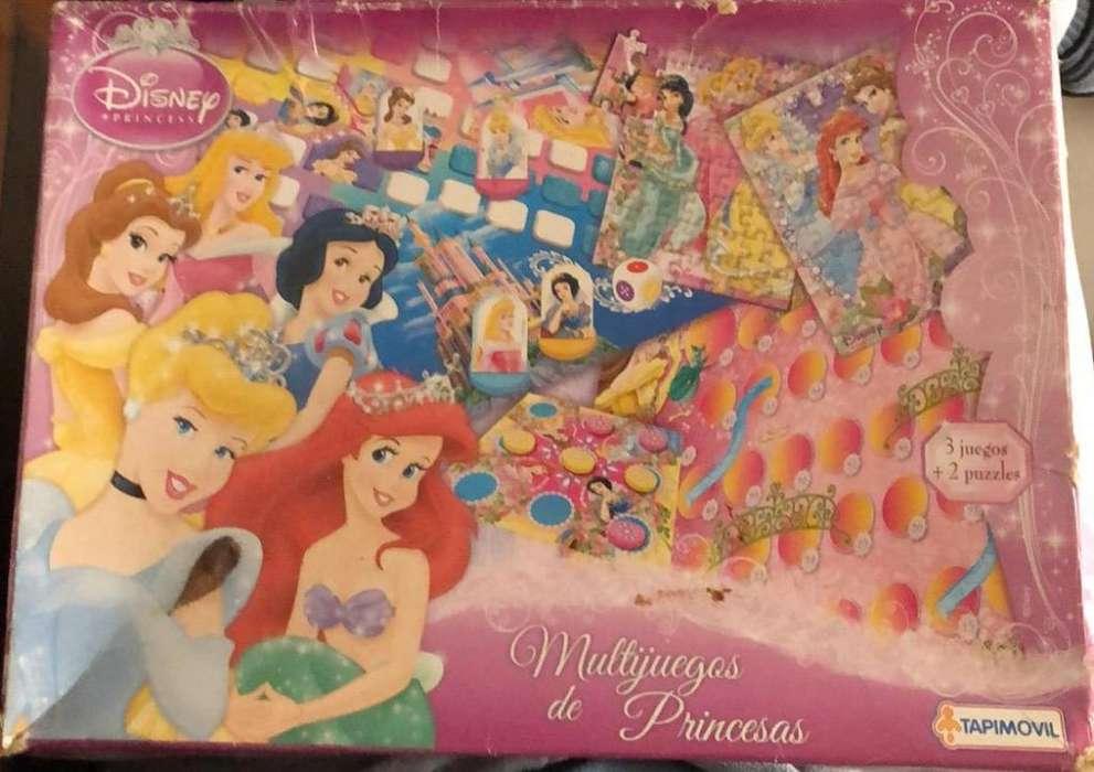 Multijuegos de Princesas. 5 Juegos
