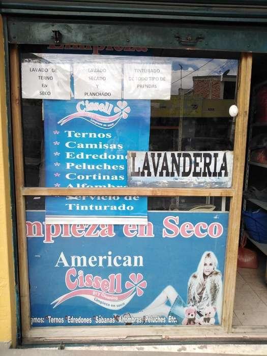 Vendo <strong>lavanderia</strong>