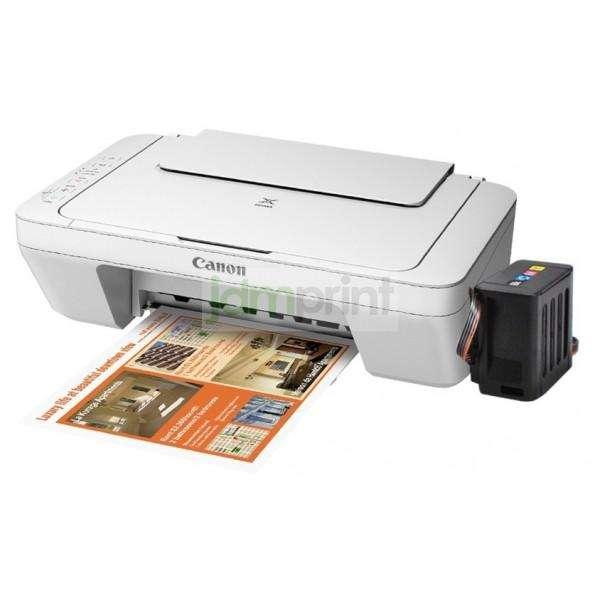 Impresora Canon Multifuncional E-402 con sistema de tinta continua