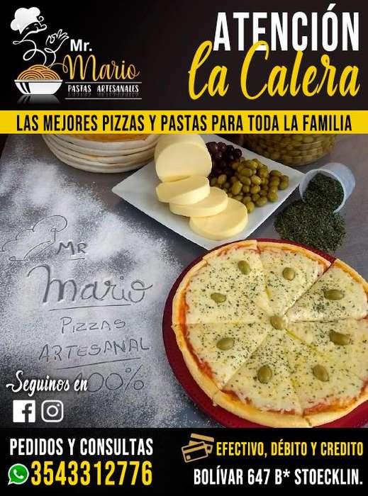 Pizza la Calera - Mr. Mario Pastas Artesanales