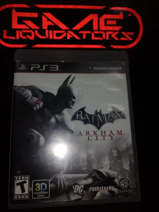 BATMAN ORIGINS PS3