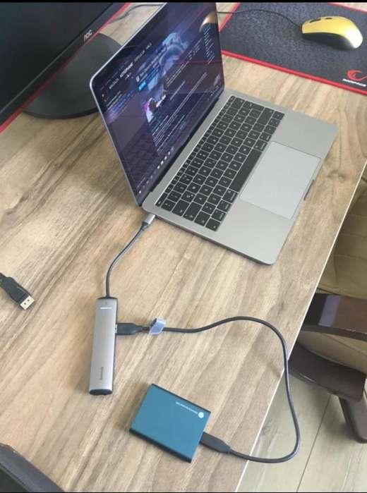 Usb C Macbook marca Baseus Hdmi-Red-Usb3.1
