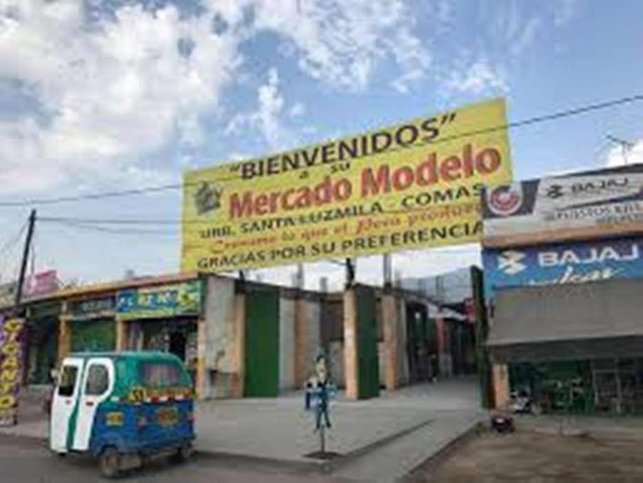 VENDO LOCAL COMERCIAL ASOCIACIÓN DE COMERCIANTES DEL MERCADO MODELO de Santa Luzmila Comas.