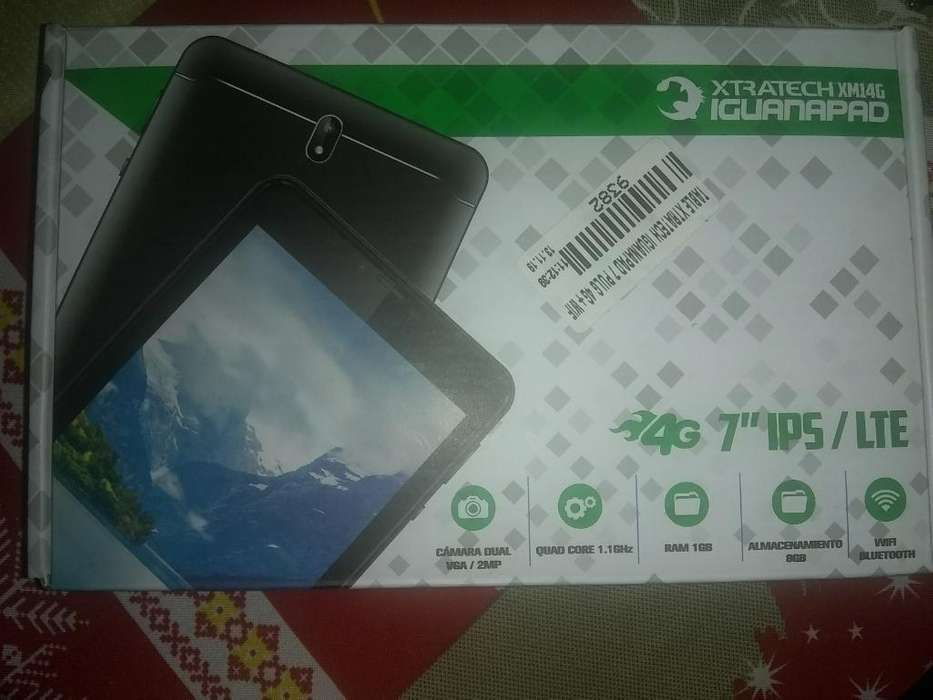 Tablet Xtratech Iguanapad Series 7 Pulg.