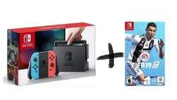 Nintendo Consola Switch COLOR  FIFA 19 (2057)