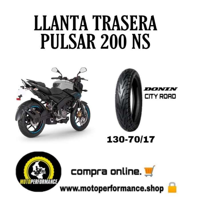 Llanta Trasera Pulsar 200 Ns 130-70-17