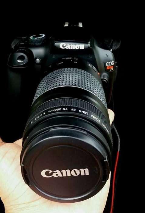 Vendo Cámara Como Nueva Canon T3