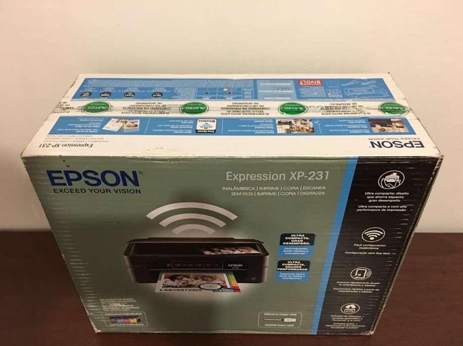 Impresora Epson Xp-231 Nueva sin Cabezal