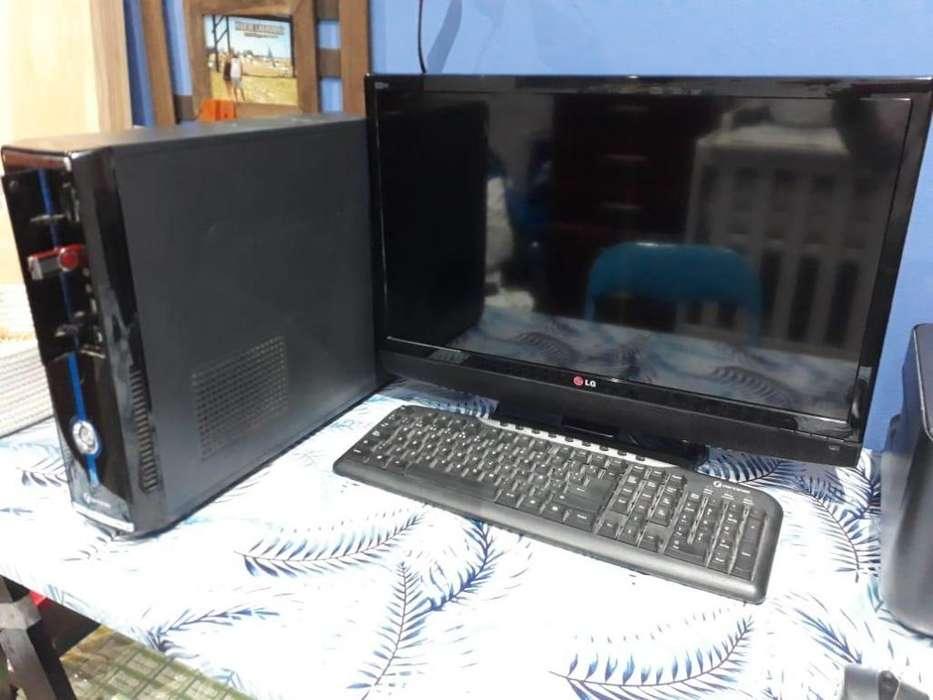 Venta de <strong>pc</strong> completa, Monitor, CPU, Mouse y Teclado