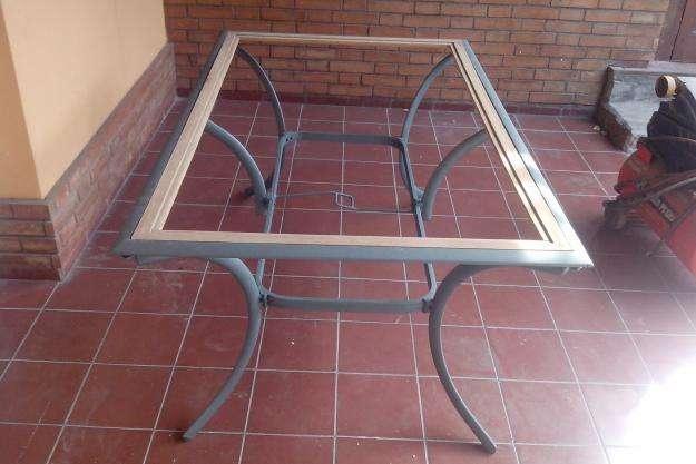 mesa de aluminio traida de españa , reja , etc