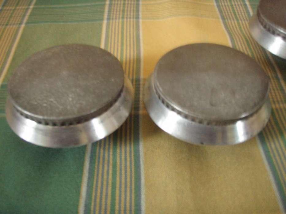 Hornallas Aluminio Antiguas De Cocina, Tapa Y Base
