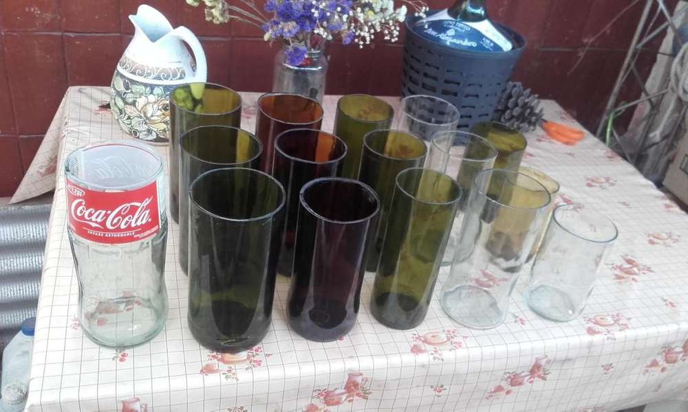 VASOS DE BOTELLAS