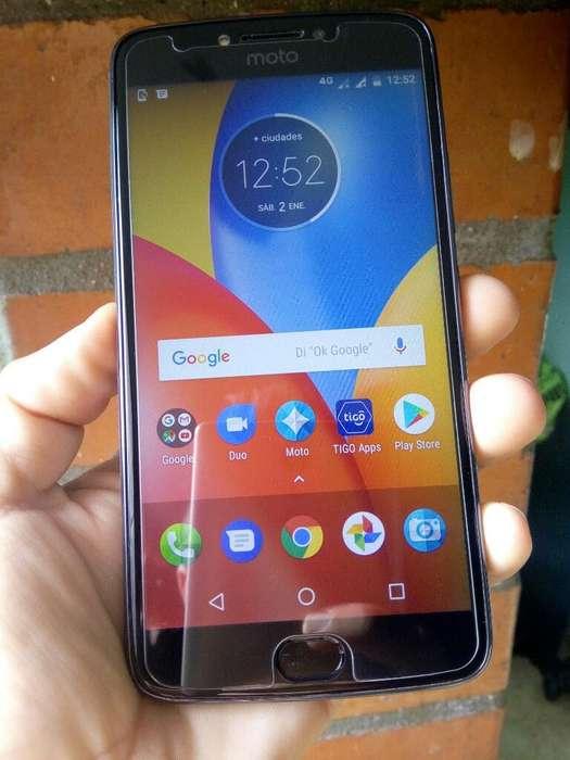 Celular Moto E5 Plus 2018 Huella