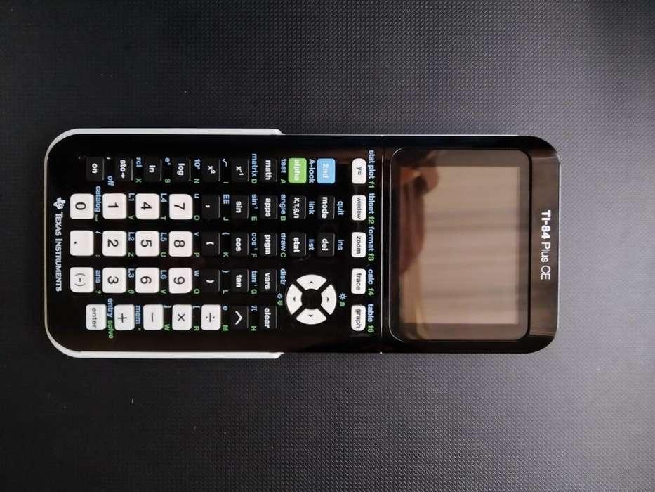 Calculadora Grfica ti84 Plus CE