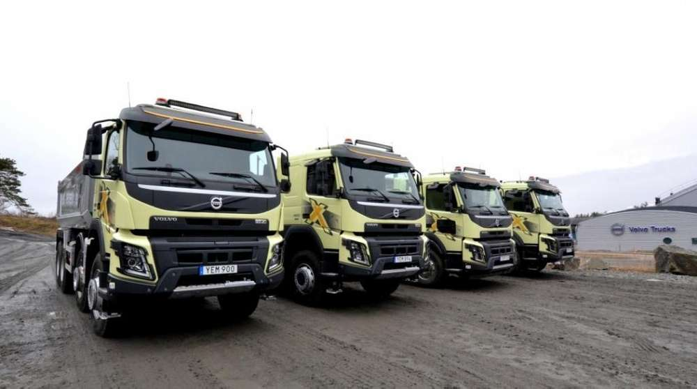 Volvo Fmx - Iveco - Scania - Inter