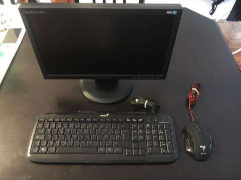 Monitor Lcd Mouse Gamer Teclado