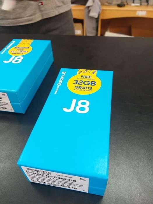 Samsung J8 32GB!!! Nuevo En Caja Libre Sellada!! 6 Meses De Garantía!!