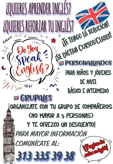 Nivelación de Inglés para Primaria y Bachillerato