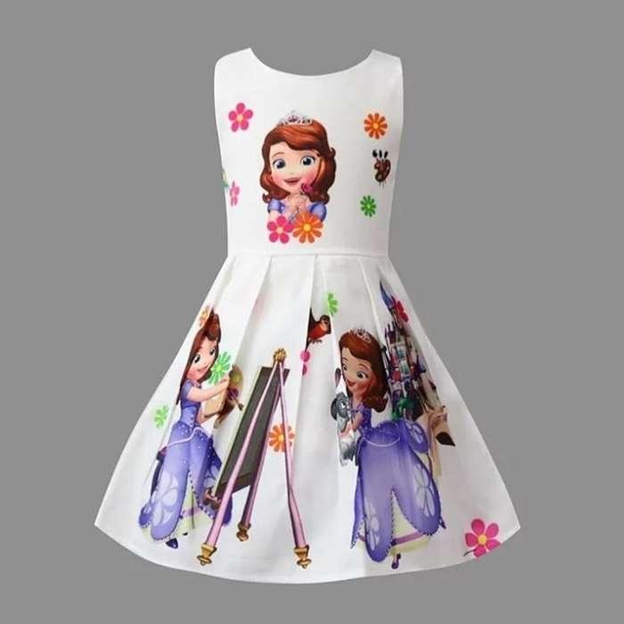 Vestido para Niña de La Princesa Sofia