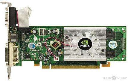 Nvidia Geforce 8400GS 512MB DDR2 450Mhz