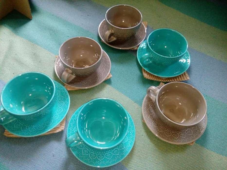 Vendo Tazas de Te de Vidrio