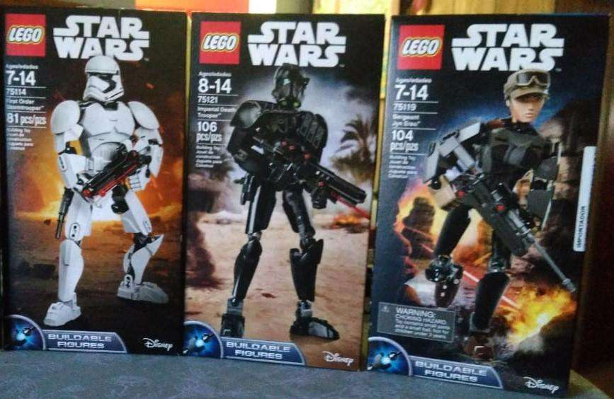 muñeco lego star wars, varios modelos. Quilmes 999