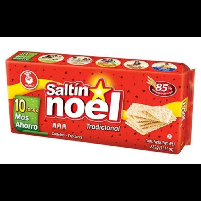 Galletas Saltin Noel 10 Tacos Más Ahorro