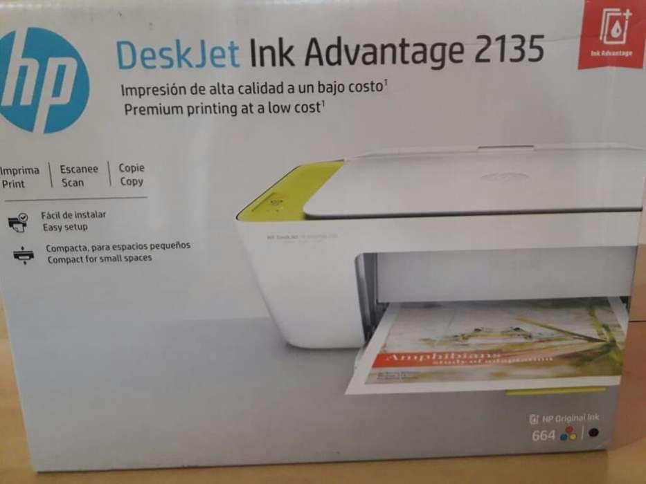 Impresora Deskjet Ink Advantage 2135