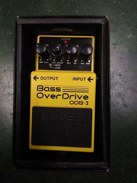 Pedal para bajo Bass OverDrive ODB3 bien barato