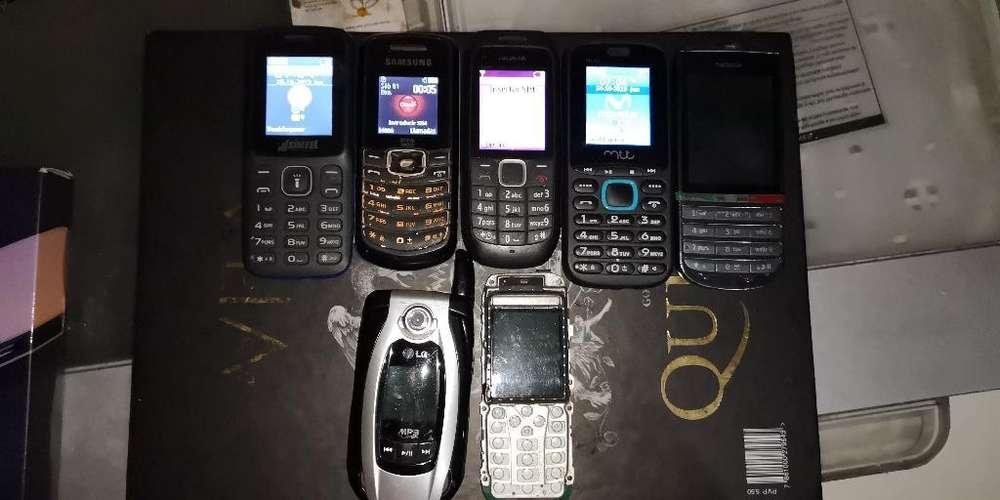Celulares Basico Nokias, Samung (repuest