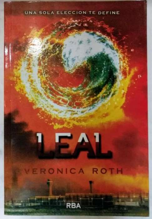 Libro Leal Saga Divergente