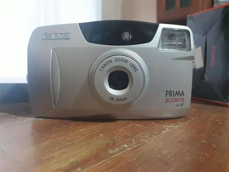 Camara Canon Prima Zoom 76 3876mm.