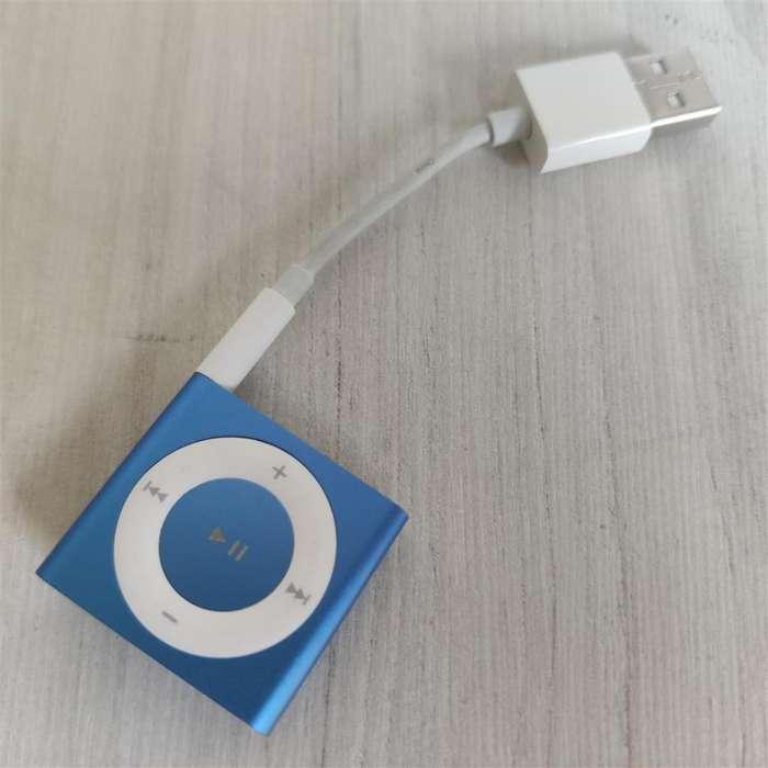 A033 <strong>ipod</strong> SHUFFLE 2GB ORIGINAL CON CARGADOR USB