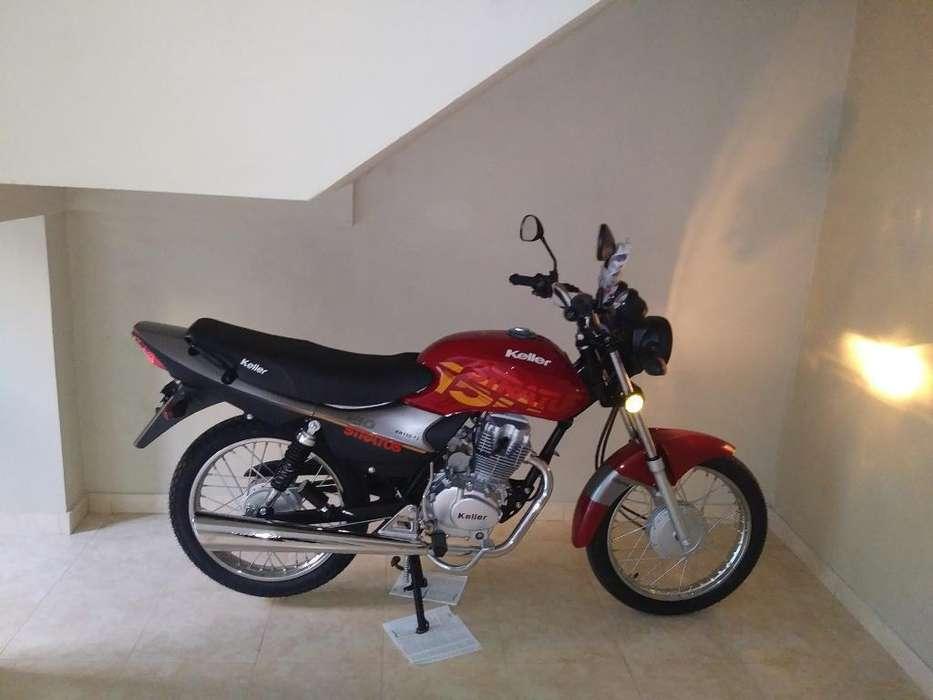 Moto Keller 0km