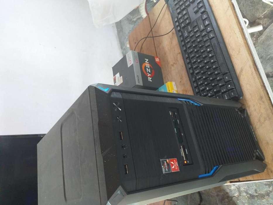 Vendo Pc Amd Ryzen 8 Gb de Ram