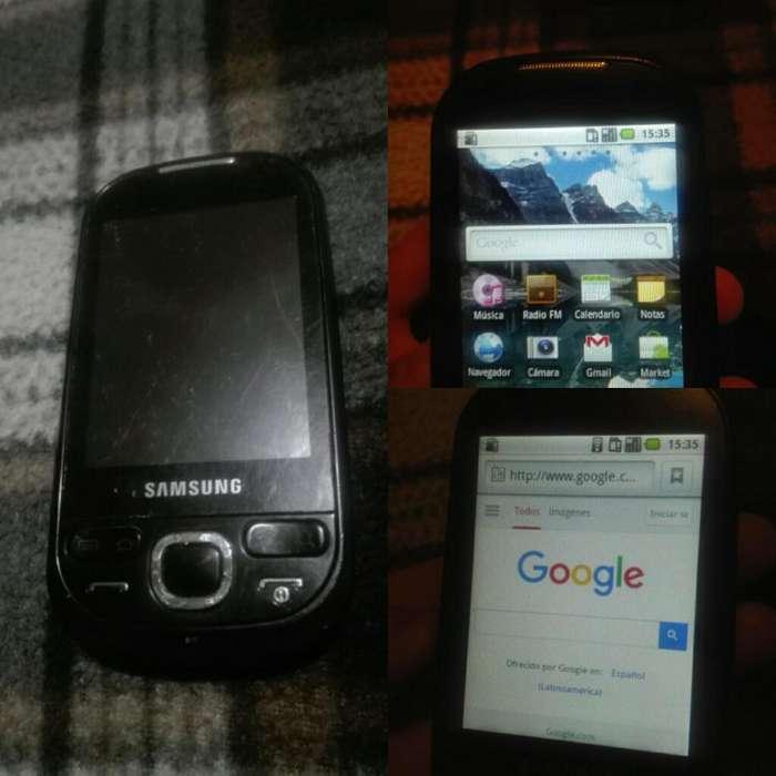 Celular Samsung Galaxy S1 con Wifi