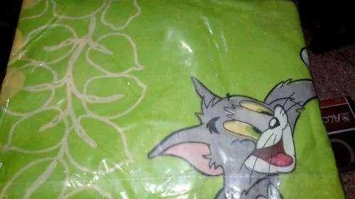 Juego de Sabana Tom Y Jerry Nuevo