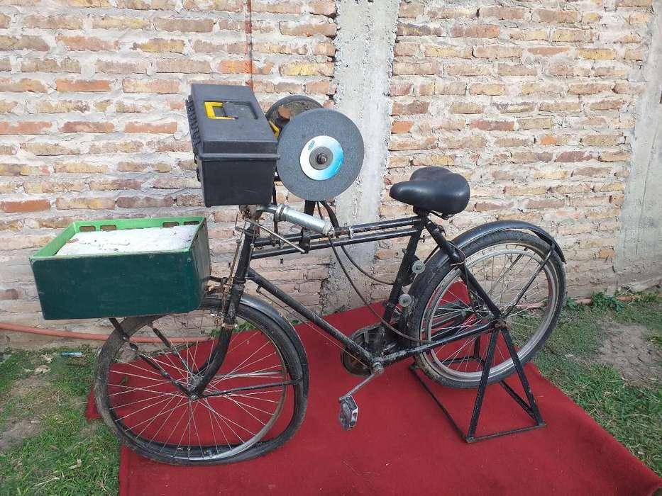 Bicicleta Afiladora