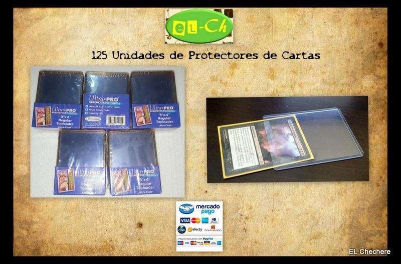 Lote de 125 protectores de cartas coleccionables nuevos 5 Paquetes.