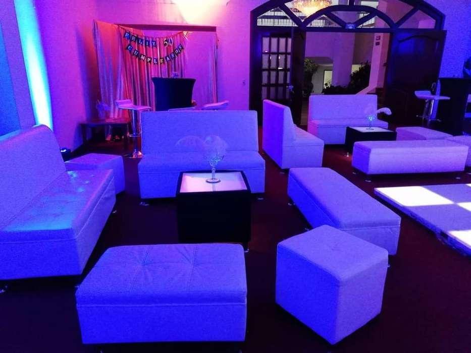 Alquiler Salas Lounge Eventos Decoración